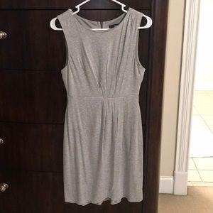 Mossimo Grey Slit Dress